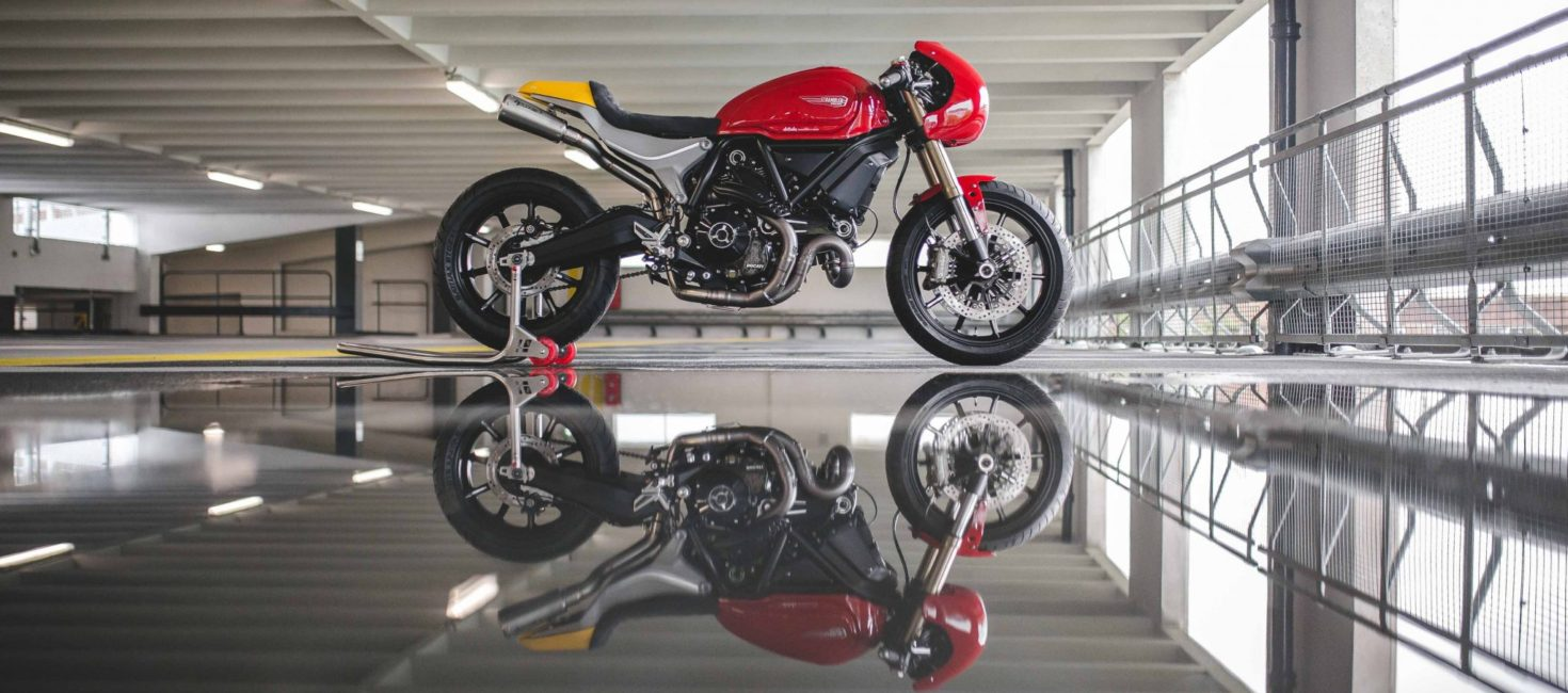 Scrambler Ducati Cafe Racer by deBolex Engineering