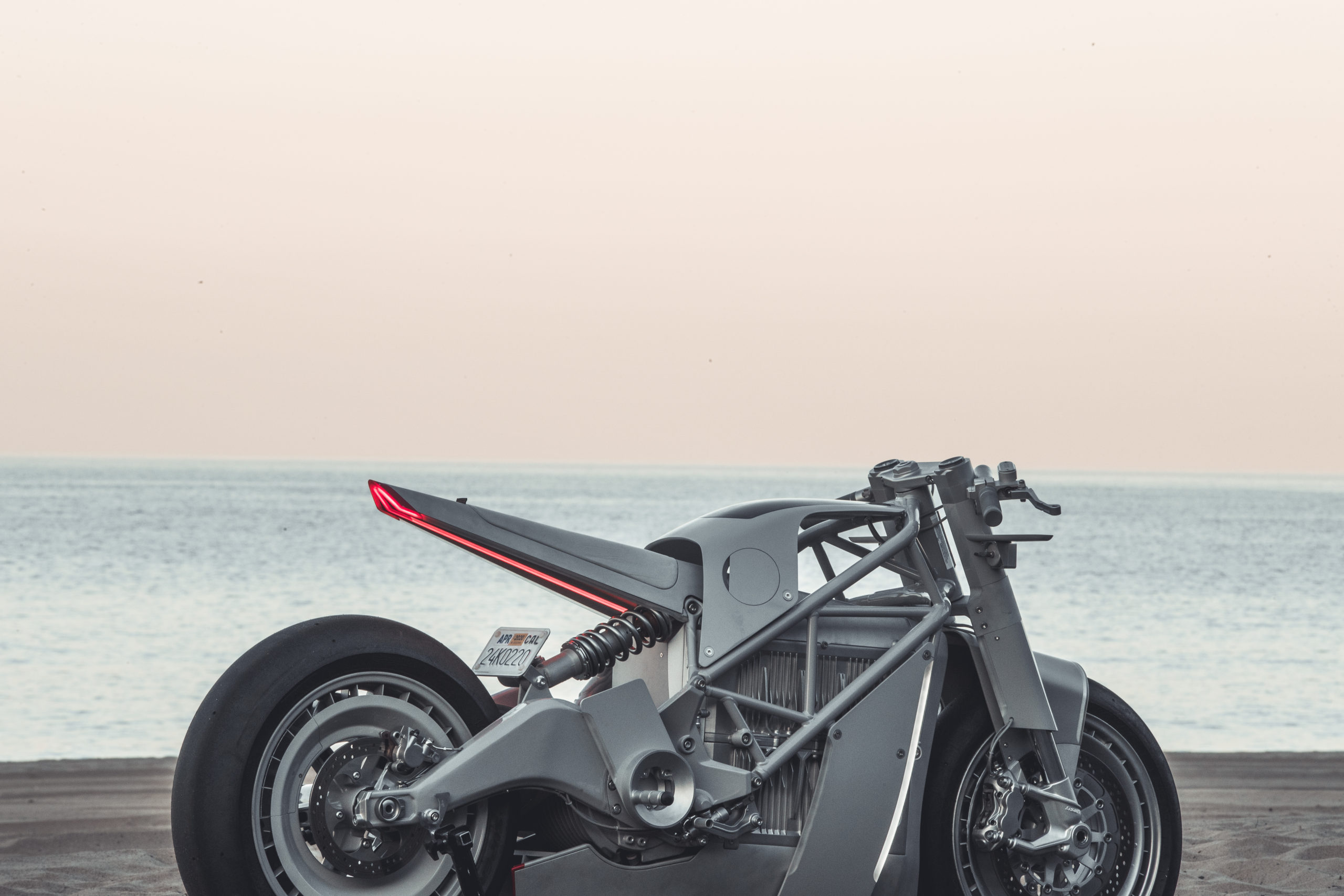 Hugo Eccles custom Zero Motorcycle
