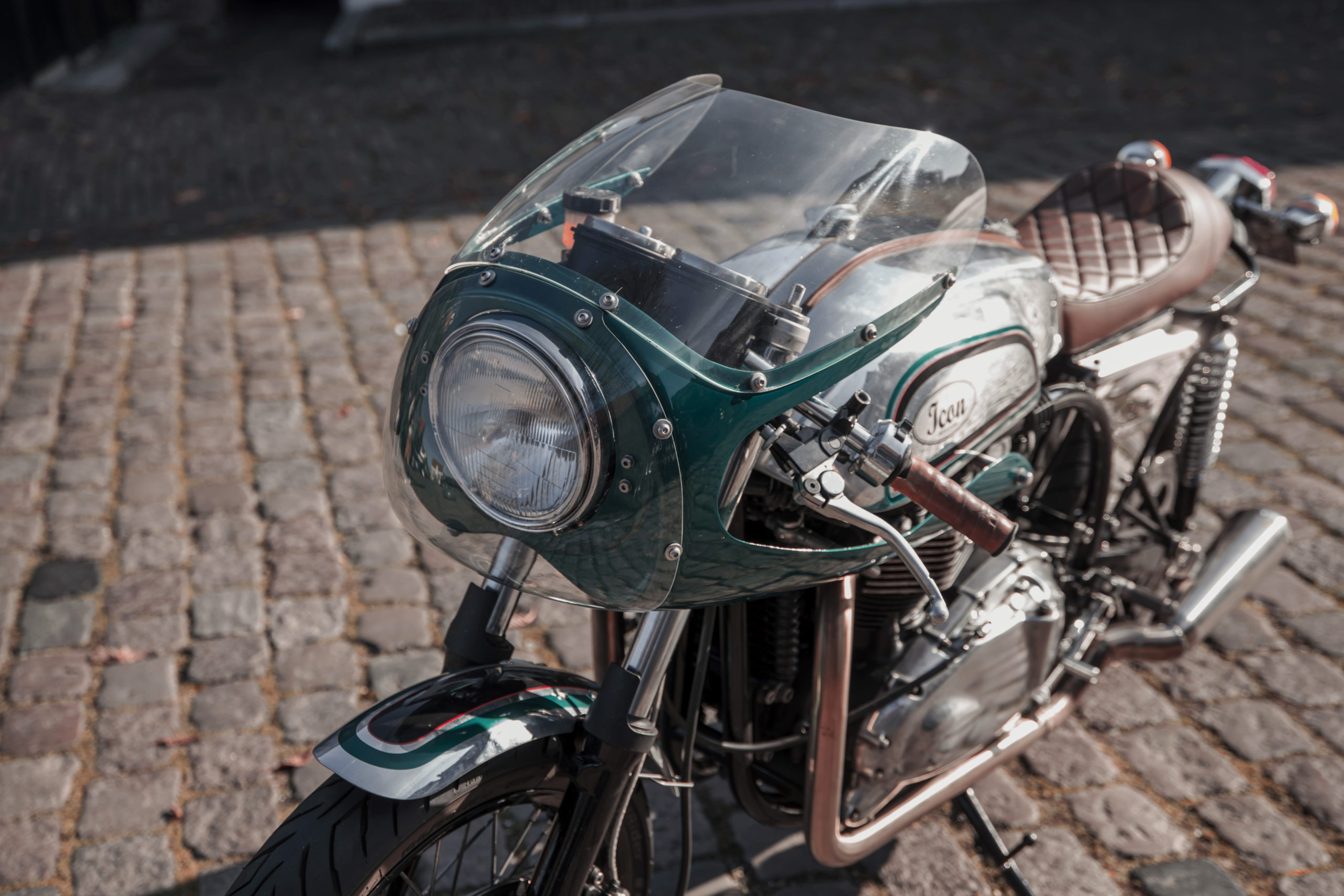Icon Motorcycles Modern Triton Cafe Racer