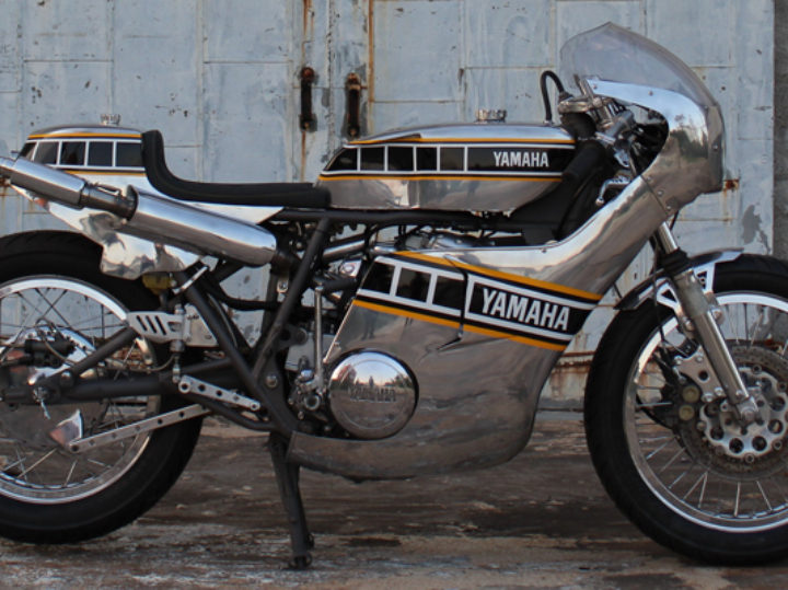 1974 Yamaha TX750 Cafe Racer by Ron George