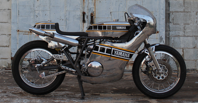 Yamaha TX750 Cafe Racer by Ron George