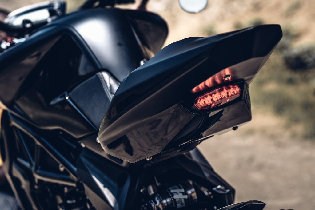 Tail of MV Agusta Dragster 800RR by Rough Crafts
