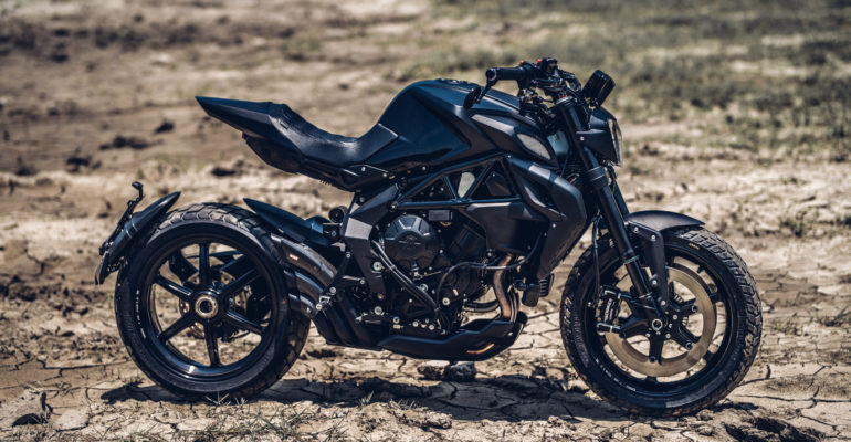 MV Agusta Dragster 800RR Urban Scrambler by Rough Crafts